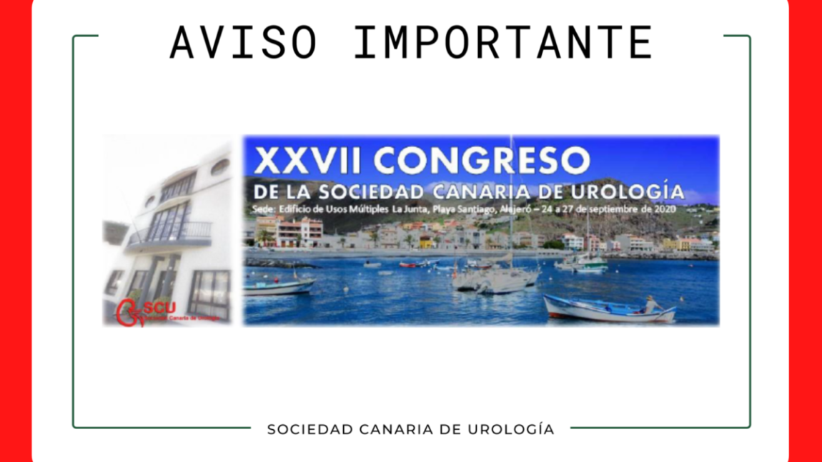 XXVII Congreso de la SCU POSPUESTO